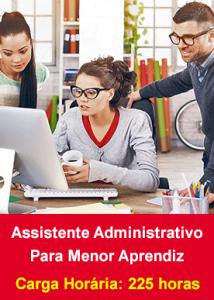 Assistente Administrativo para Menor Aprendiz